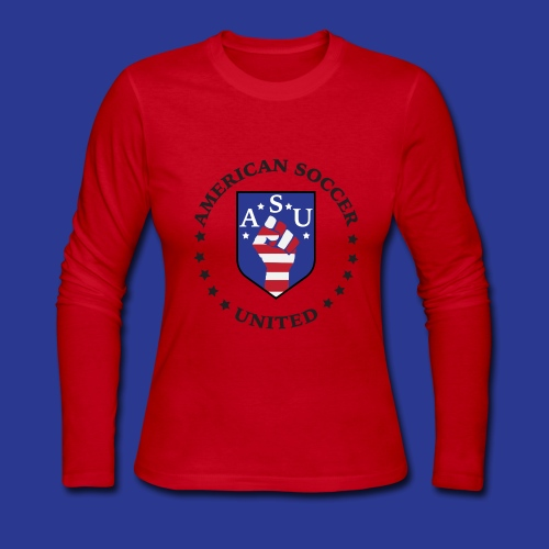 American Soccer United - Women's Long Sleeve Jersey T-Shirt