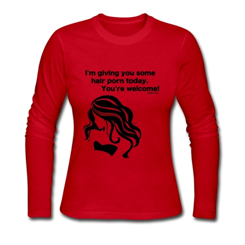 Hair Porn - Women's Long Sleeve Jersey T-Shirt