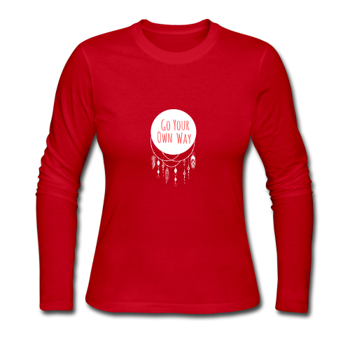 Go Your Own Way - Women's Long Sleeve Jersey T-Shirt