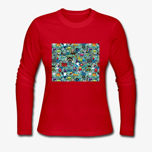 Wild Thoughts - Women's Long Sleeve Jersey T-Shirt