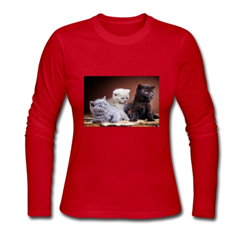 The 3 little kittens - Women's Long Sleeve Jersey T-Shirt