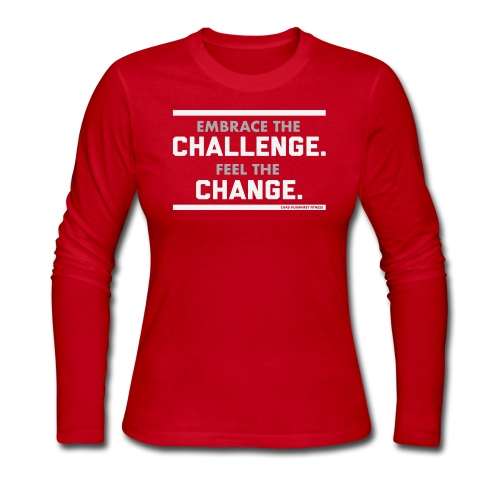 Challenge & Change // Chad Humphrey - Women's Long Sleeve Jersey T-Shirt