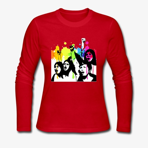 Girl power - Women's Long Sleeve Jersey T-Shirt
