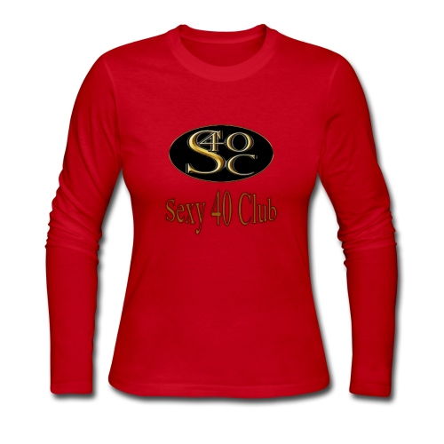 s40c logo trans - Women's Long Sleeve Jersey T-Shirt