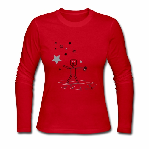 CHASiN STARZ - Women's Long Sleeve Jersey T-Shirt