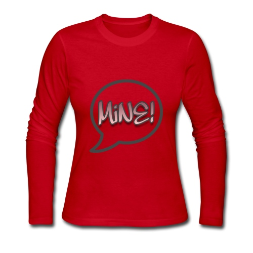 Couples Mine merchandise for Women - Women's Long Sleeve Jersey T-Shirt