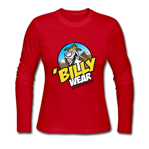 'Billy Wear brand logo - Women's Long Sleeve Jersey T-Shirt