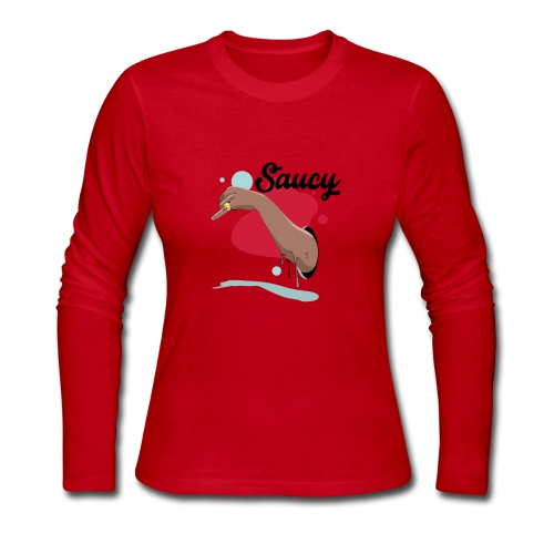 saucy - Women's Long Sleeve Jersey T-Shirt