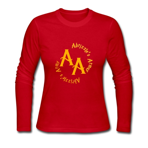Abrizzles Army - Women's Long Sleeve Jersey T-Shirt