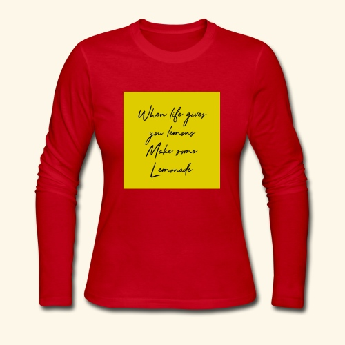 LEMONADE - Women's Long Sleeve Jersey T-Shirt