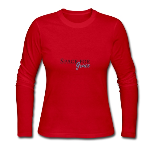 Space for grace - Women's Long Sleeve Jersey T-Shirt