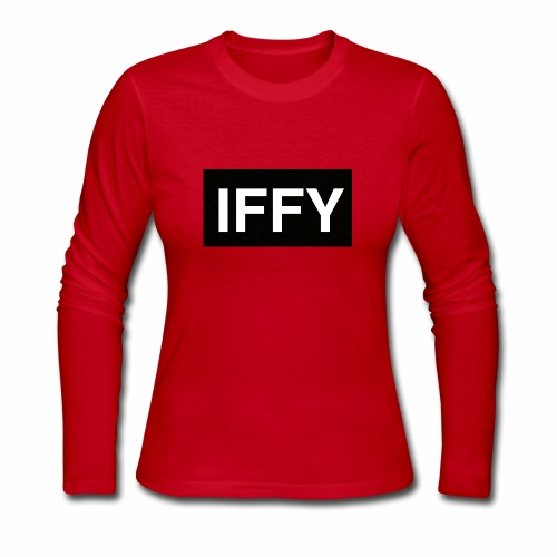 """IFFY"" Nickname - Women's Long Sleeve Jersey T-Shirt"
