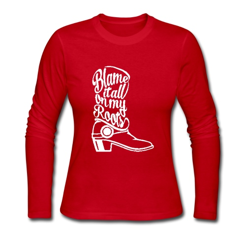 Blame it on the boots - Women's Long Sleeve Jersey T-Shirt