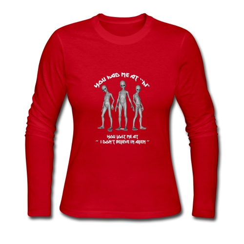 Alien T shirt and Apparel Limited Edition ! - Women's Long Sleeve Jersey T-Shirt