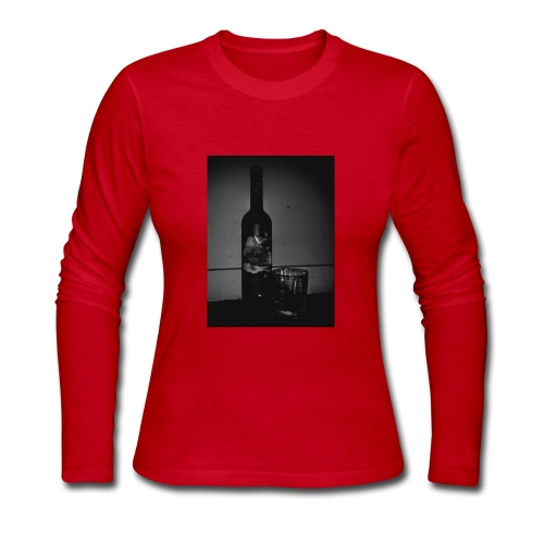 BLACK AND WHITE Grey Goose - Women's Long Sleeve Jersey T-Shirt