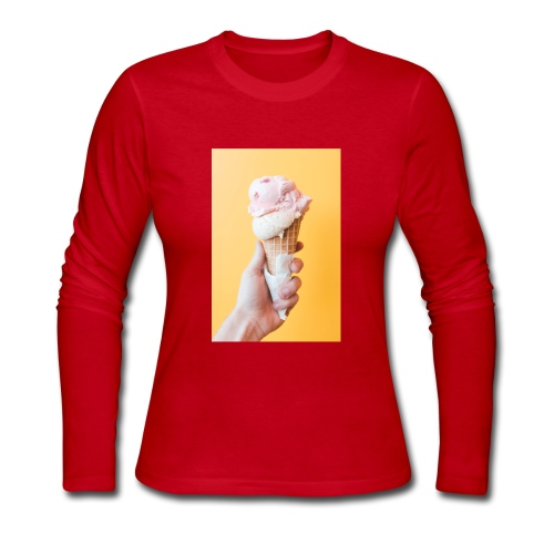Ice Cream - Women's Long Sleeve Jersey T-Shirt