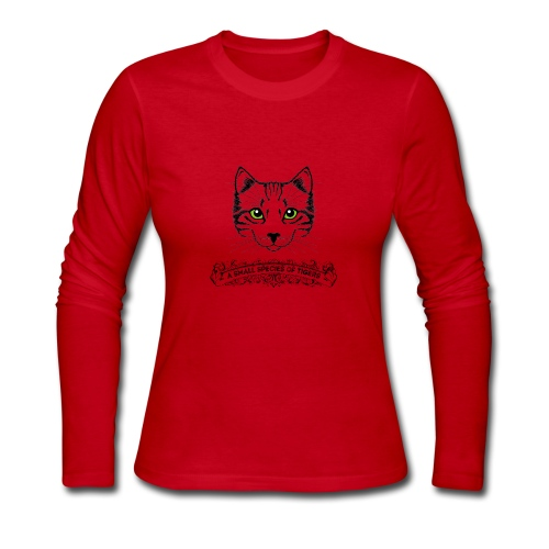 I Love CAT - Women's Long Sleeve Jersey T-Shirt