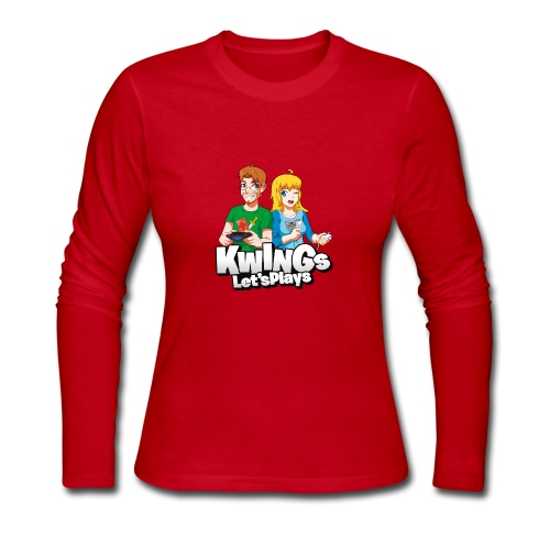 Knightwingletsplays Fan Shirt - Women's Long Sleeve Jersey T-Shirt