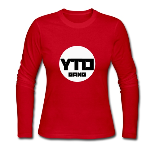 ytd logo - Women's Long Sleeve Jersey T-Shirt