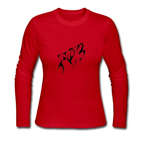 Wolf - Women's Long Sleeve Jersey T-Shirt