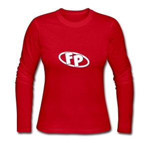 Secondary FRESHPOPCORN Logo - Women's Long Sleeve Jersey T-Shirt