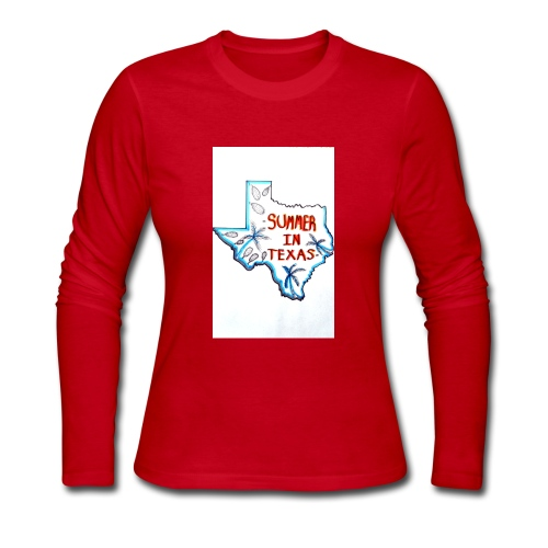 Summer in Texas - Women's Long Sleeve Jersey T-Shirt