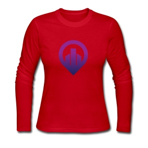 City - Women's Long Sleeve Jersey T-Shirt