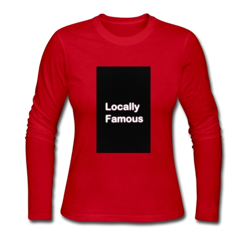 Locally Famous - Women's Long Sleeve Jersey T-Shirt