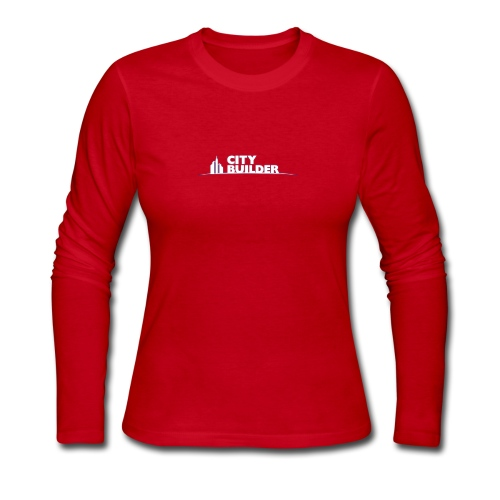 city builder - Women's Long Sleeve Jersey T-Shirt
