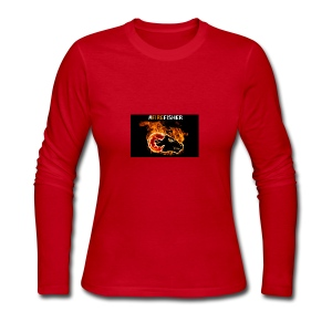 Fire_Fisher - Women's Long Sleeve Jersey T-Shirt