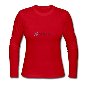 Color-Logo-with-Text - Women's Long Sleeve Jersey T-Shirt
