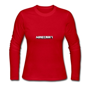 Mincraft MERCH - Women's Long Sleeve Jersey T-Shirt