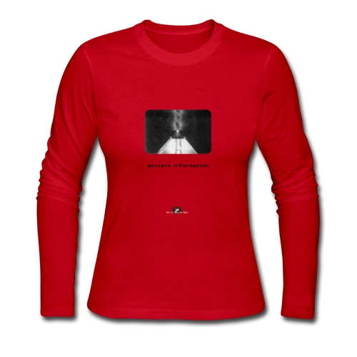 'Ancient Information' - Women's Long Sleeve Jersey T-Shirt