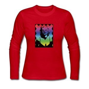 Marylyn M. - Women's Long Sleeve Jersey T-Shirt