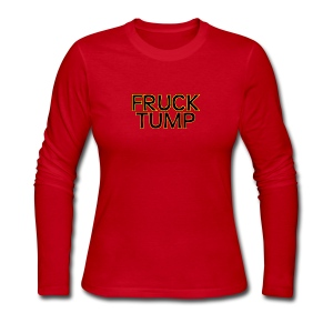 fruck tump - Women's Long Sleeve Jersey T-Shirt