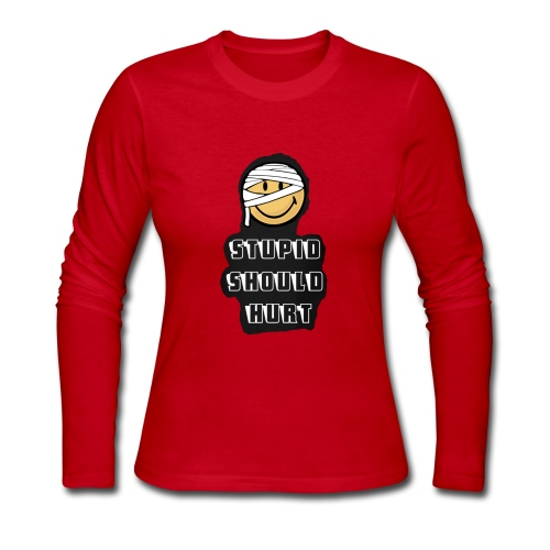 Stupid shirt - Women's Long Sleeve Jersey T-Shirt