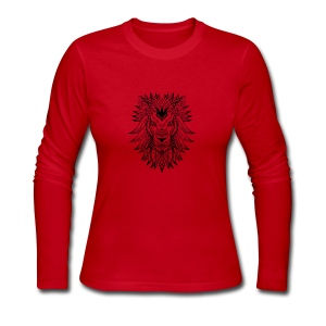 Lion - Women's Long Sleeve Jersey T-Shirt