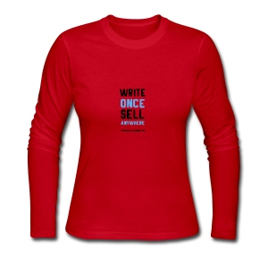 Write Once Sell Anywhere - Women's Long Sleeve Jersey T-Shirt