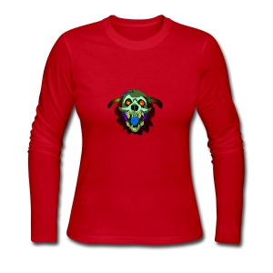 Dr. Mindskull - Women's Long Sleeve Jersey T-Shirt