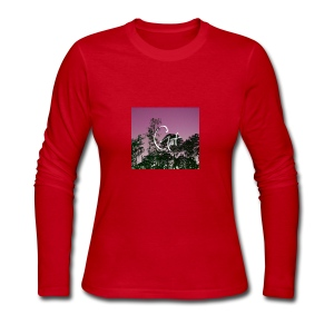 Pink Forest Gart - Women's Long Sleeve Jersey T-Shirt