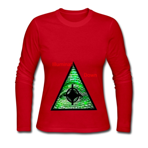 illuminati Confirmed - Women's Long Sleeve Jersey T-Shirt