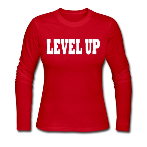LEVEL UP LEVELUP - Women's Long Sleeve Jersey T-Shirt