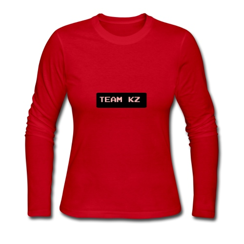 Team KZ - Women's Long Sleeve Jersey T-Shirt