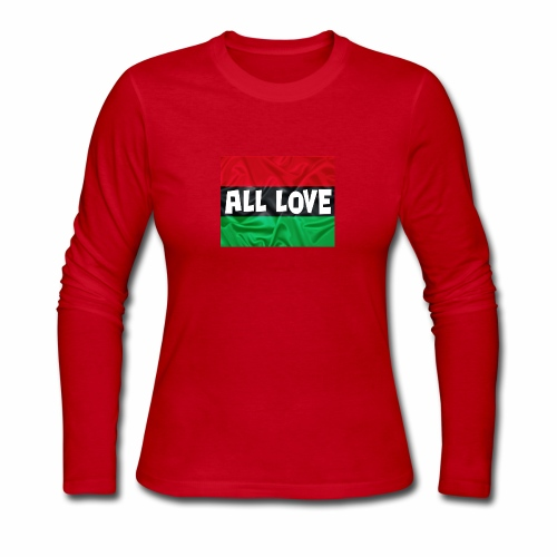 ALL LOVE - Women's Long Sleeve Jersey T-Shirt