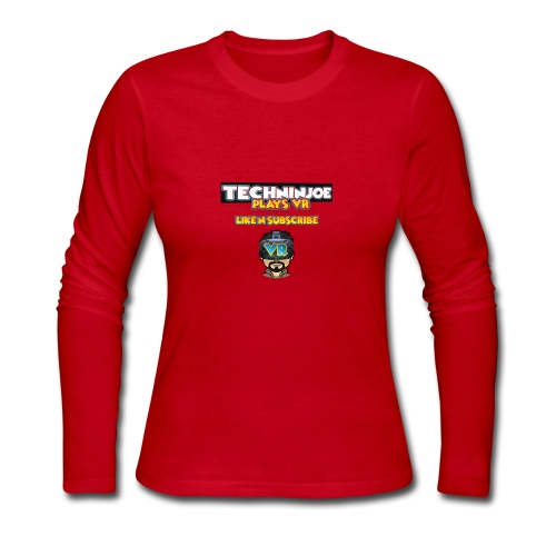 techninjoe Logo T-Shirt - Women's Long Sleeve Jersey T-Shirt