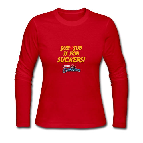 Anti Sub4Sub - Women's Long Sleeve Jersey T-Shirt