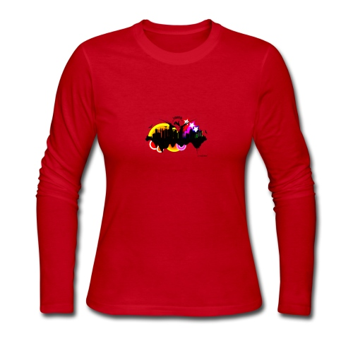Design 3 - Women's Long Sleeve Jersey T-Shirt