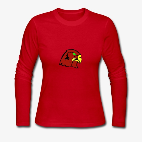The Hawk - Women's Long Sleeve Jersey T-Shirt