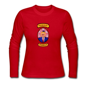 President Sprinkles - Women's Long Sleeve Jersey T-Shirt