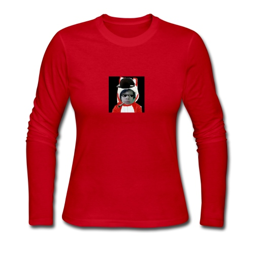 The SNIPPY Face - Women's Long Sleeve Jersey T-Shirt